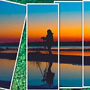 Broken Sunset Poster