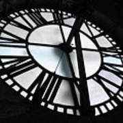 Bromo Seltzer Clock Poster