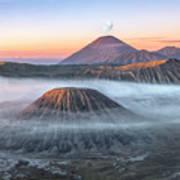 bromo tengger semeru national park - Java Poster