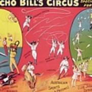 Bronco Bills Circus Poster