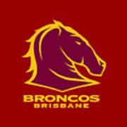 Broncos Brisbane Poster