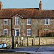 Brook House Bosham Poster