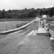 Brookfield, Vt - Floating Bridge 5 Bw Poster
