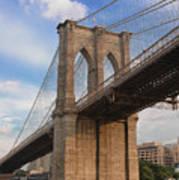 Brooklyn Bridge - Eastbound Poster
