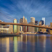 Brooklyn Bridge From Dumbo Poster