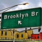 Brooklyn Bridge Thisaway Poster