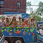 Brooklyn Mermaids Poster