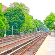 Brooklyn Subway Train Station 2 Poster