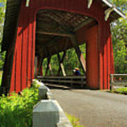 Brookwood Covered Bridge Poster