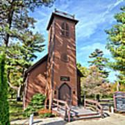 Brown Church Autumn 2 Poster