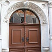 Brown Door Poster