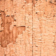 Brown Paint Texture Poster
