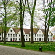 Bruges Begijnhof 2 Poster
