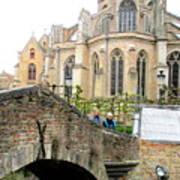 Bruges Bridge 3 Poster
