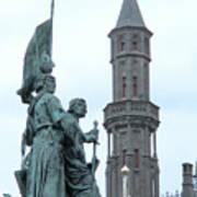 Bruges Markt 5 Poster