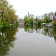 Bruges Minnewater 2 Poster