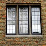 Bruges Window 3 Poster