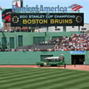 Bruins At Fenway Poster