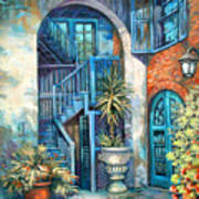 Brulatour Courtyard Poster