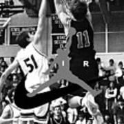 Bryan Nelson Goes Michael Air Jordan, A Shawnee Mission East High School Legend Poster