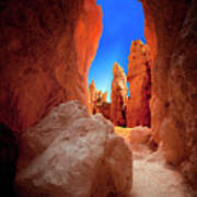 Bryce Canyon Narrows Poster