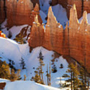 Bryce Canyon Winter 3 Poster