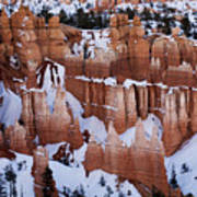 Bryce Canyon Winter 9 Poster