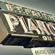 B.t.faith Pianos Poster