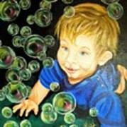 Bubble Baby Poster