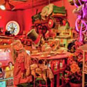 Bubble Room Restaurant - Captiva Island, Florida Poster