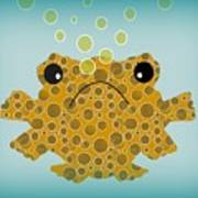Bubbles The Fish Poster