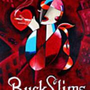 Buck Slims Cigarettes Poster