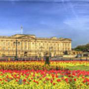 Buckingham Palace London Panorama Poster