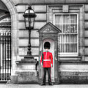 Buckingham Palace Queens Guard Poster