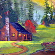 Bucks Cabin Poster