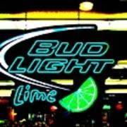 Bud Light Lime Tweeked Poster