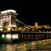 Chain Bridge And  Buda Castle  Poster