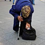 Budapest Beggar Poster