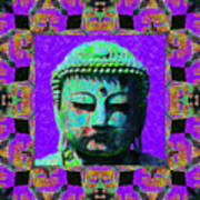 Buddha Abstract Window 20130130m28 Poster