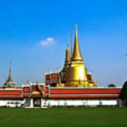 Buddhaist Temple Poster