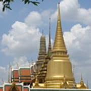 Buddhist Chedi - Bangkok Poster