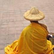 Buddhist Monk Poster