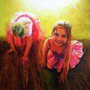 Budding Ballerinas Poster