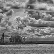 Buffalo Lighthouse 8111 Poster