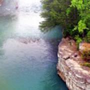 Buffalo River Mist Poster