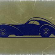 Bugatti 57 S Atlantic Poster by Naxart Studio