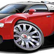Bugatti Veyron  Poster by Maddmax