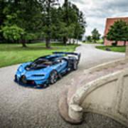 Bugatti Vision Gt Poster