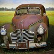 Buick Eight Poster by Doug Strickland