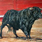 Bull Poster by David McEwen